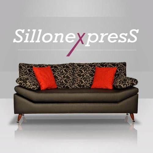 Sillon 2 Y 3 Cuerpos Sofa En Jaccard Rustik - $ 5.190,00