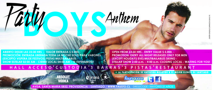 JUEVES BOYS PARTY