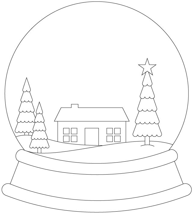 Mr Snowman On Christmas Is Getting Cold Coloring Page: 33 Best Snow Globes Images On Pinterest