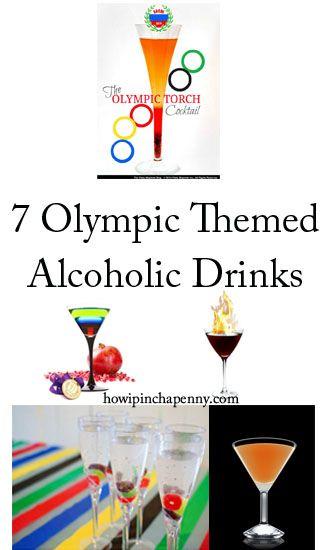 7 Olympic Themed Alcoholic Drinks #olympics #sochi