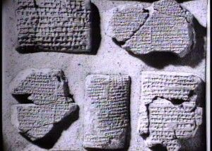 """The story of the flood were among these, found on the 11th tablet in Sumer within the story of  """"The epic of Gilgamesh"""". In this epic Noah's name is given as UTNAPISHTIM although the story is very similar to that of the bible, even mentioning the releasing of birds to find land."""