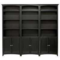 Mckenzie Bookcase Unit W/ Doors - Once A Tree Furniture