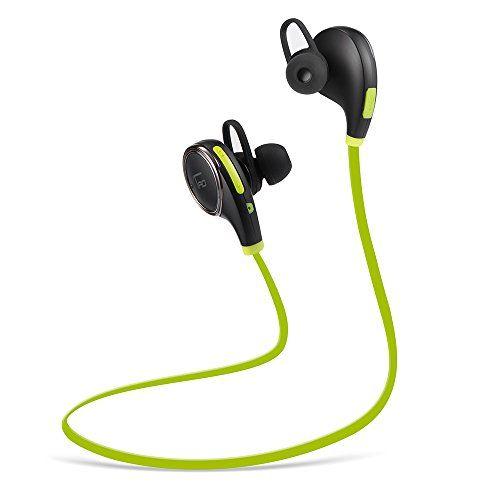 [CNET's PICK] Bluetooth Headphones TaoTronics Wireless Earphones Sport Earbuds Headsets (Bluetooth 4.0, Balanced Audio, Build-in Mic, aptX, CVC 6.0 Noise-Cancelling)-Black & Green TaoTronics http://www.amazon.com/dp/B00YTW9KT2/ref=cm_sw_r_pi_dp_kKWZvb0HK35B3
