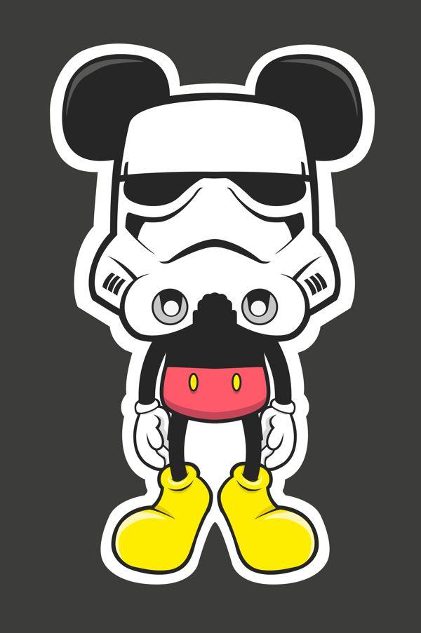 Mickey en el lado oscuro...