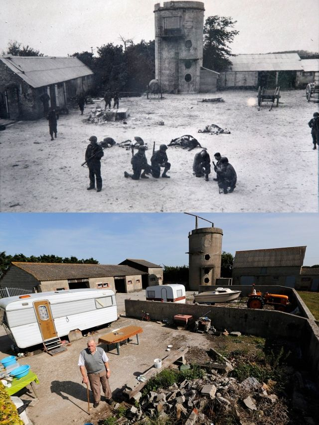 Normandy Then Now 08