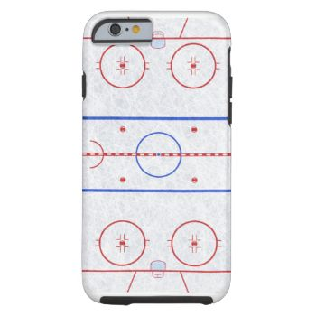 Perfect Carry the rink with you wherever you go with this Ice Hockey Rink iPhone case