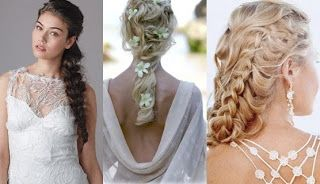What #Hairstyle do you prefer? #Braids for your #Wedding