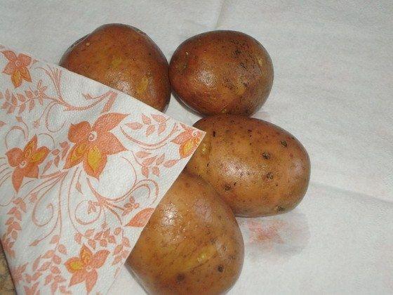 Чтобы кожица картофеля не лопалась при варке 0