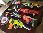 Lot 8 Nerf Guns Magazine Attachments Doominator Rotofury Rayven Star Wars Vortex