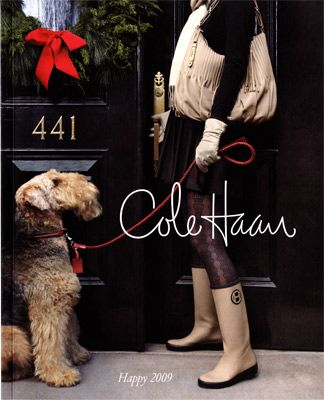 Robyn Glasser for Cole Haan. I think I just want an airedale.