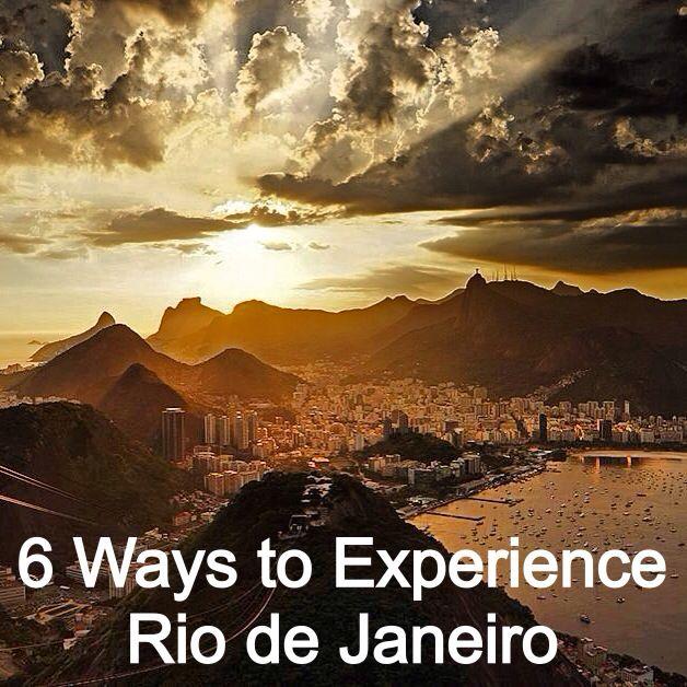 Six ways to experience Rio de Janeiro
