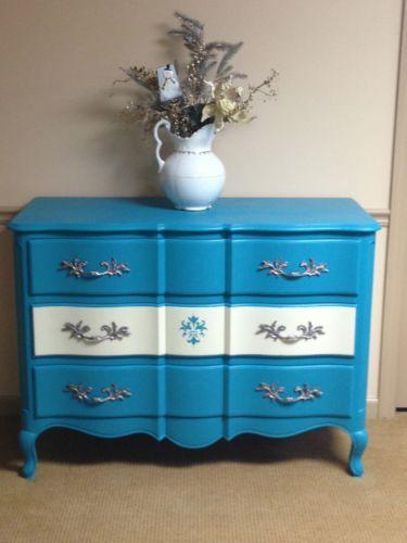 Stunning French Provincial Vintage Dresser Redo Local Pick Up | eBay