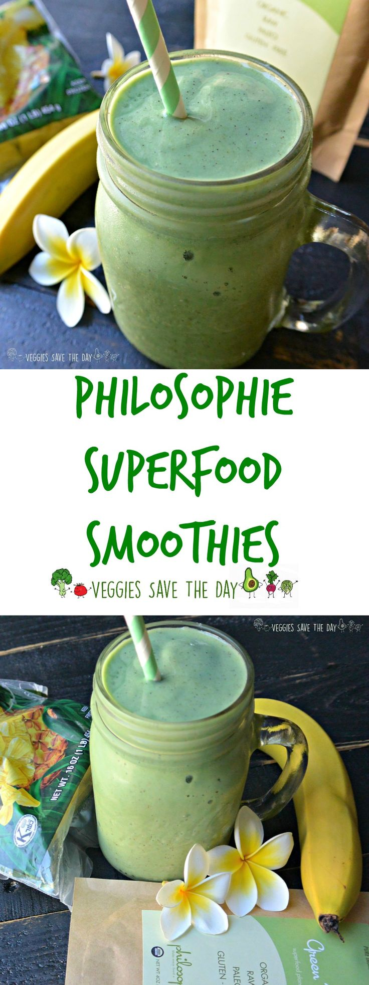 Philosophie plant-based protein powders allow you to turn every food into a…
