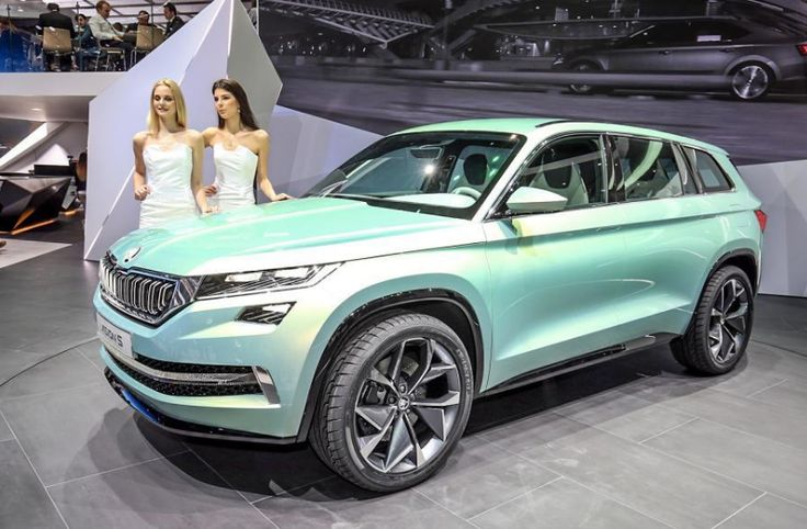 Big suv Skoda Kodiaq will release in early 2018. The future design known as 2018 Skoda Kodiaq 7 Seater SUV has lastly been exposed.