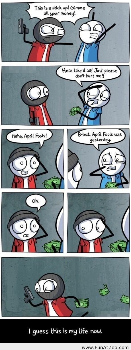 Funny april fool comic - Funny Picture