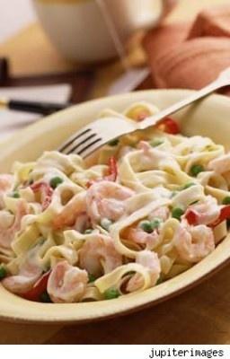 Seafood Alfredo recipe