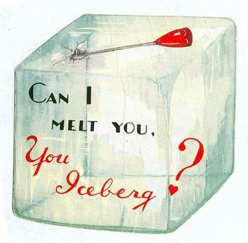valentine: Funny Valentine, Food Valentines, Vintage Valentines, Ice, Valentine Cards, Holidays Valentines, Valentines Cards, Valentine S, Vintage Cards