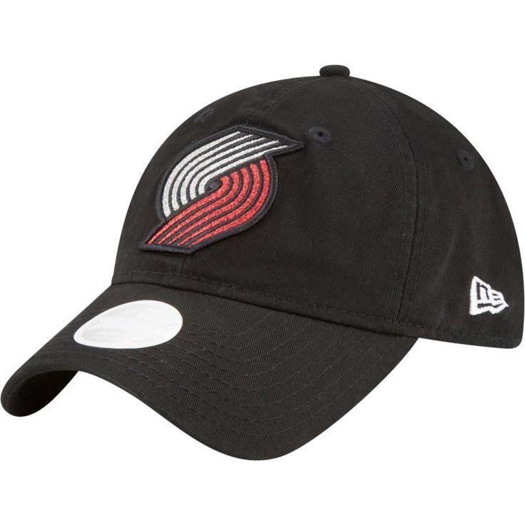 New Era Women's Portland Trail Blazers 9Twenty Glisten Adjustable Hat, Team
