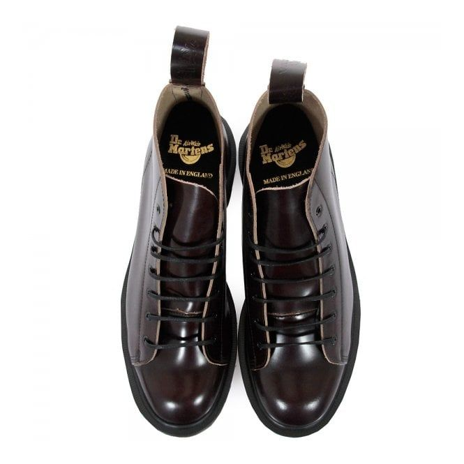 Dr Martens Made in England | Les Merlot Boanil Brush Boots
