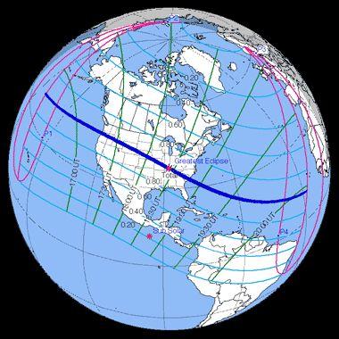 Eclipse Pronosnicados  hasta 2100 y 3000
