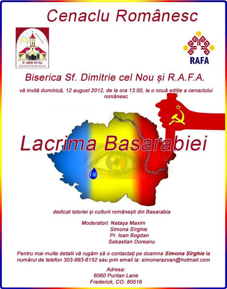 Cenaclu Romanesc Lacrima Basarabiei Saint Dimitrie The New Church Frederick Co Romanian Cultural Moment Http Www Sfdimi New Church Culture In This Moment