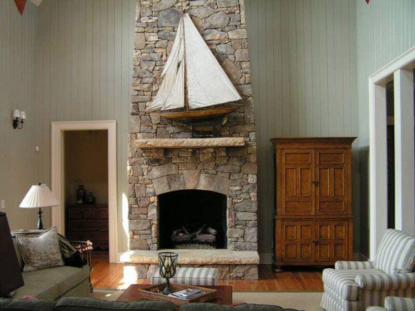 resultado de imagen para chimeneas de piedra casa tigre pinterest search
