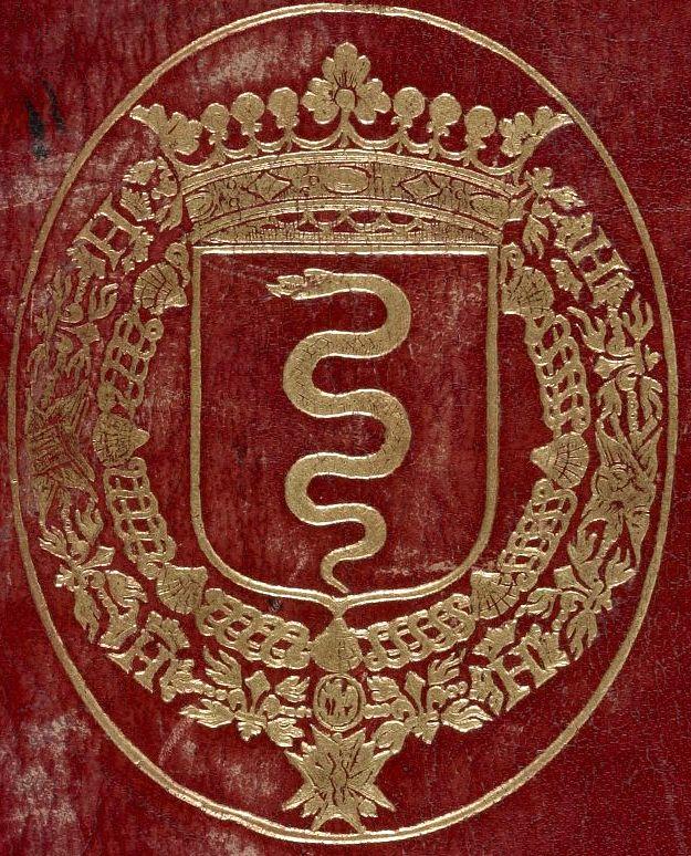 Reliure maroquin rouge aux armes de Jean-Baptiste Colbert -- «Graduale Albiense», 1001-1100, [BNF Ms Latin 776].