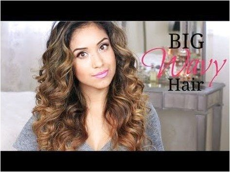 Big Wavy Hair Tutorial   Give-a-way! #StylesForWavyHair Click for further information