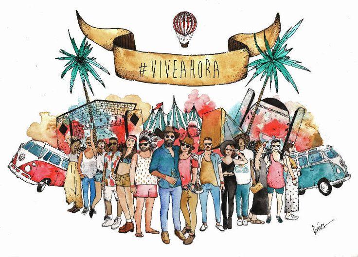 «Vive Ahora Art»: ilustración en Malasaña