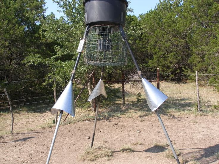 Cheap way to coon proof your feeders | Deer Hunting | Texas Hunting Forum