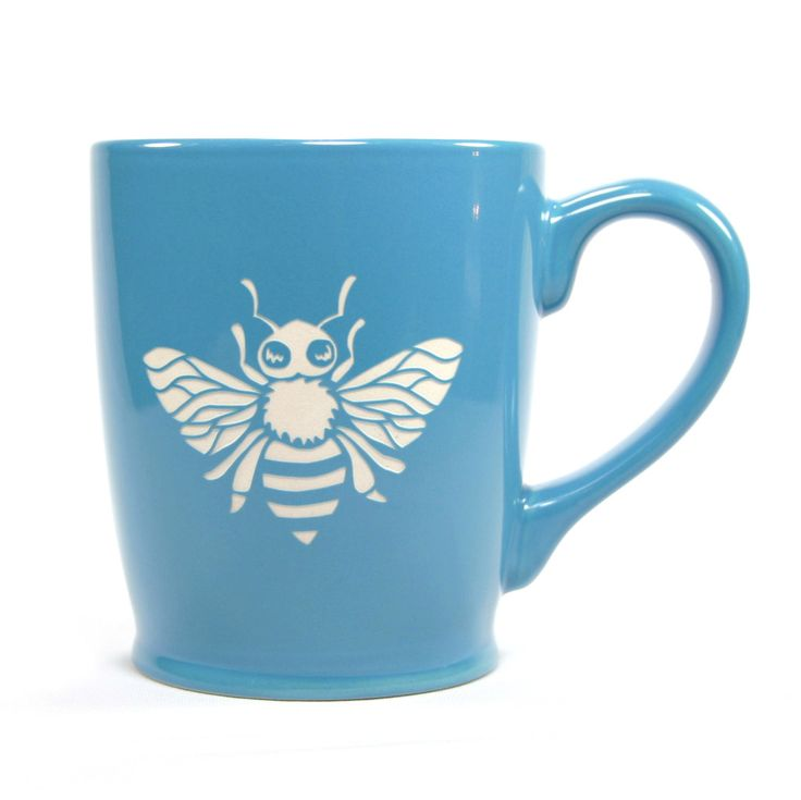 Honey Bee coffee mugs by Bread and Badger® Does it come in red or yellow?