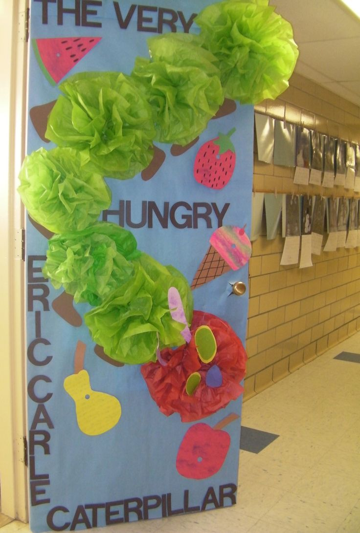 2017 05 the very hungry caterpillar lesson plans - Read Across America The Very Hungry Caterpillar Door