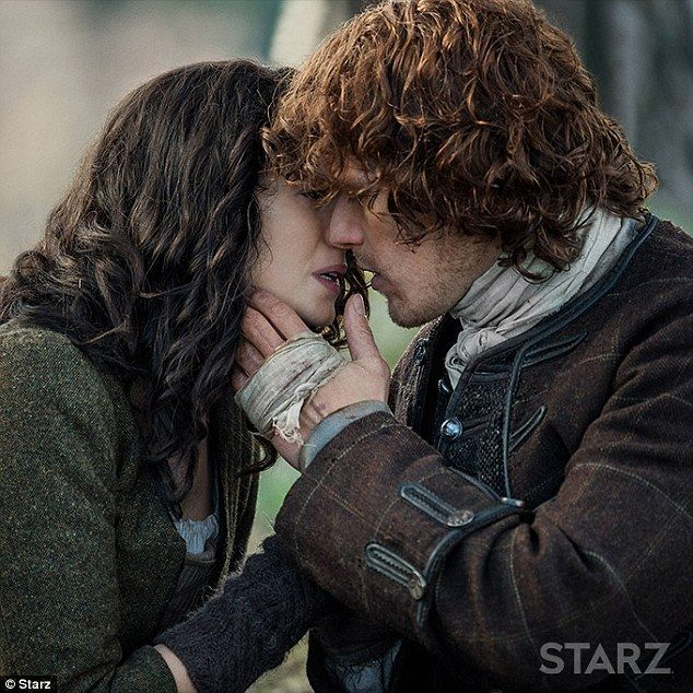 Teaser: The Irish actress, 37, spoke of Jamie and Claire's 'timeless love' and how they will still enjoy getting intimate in the Starz show - something which should be enjoyed by people of all ages