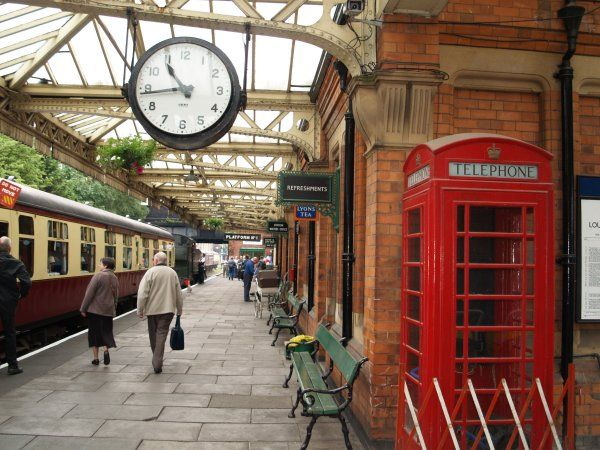Leicester Train Station -