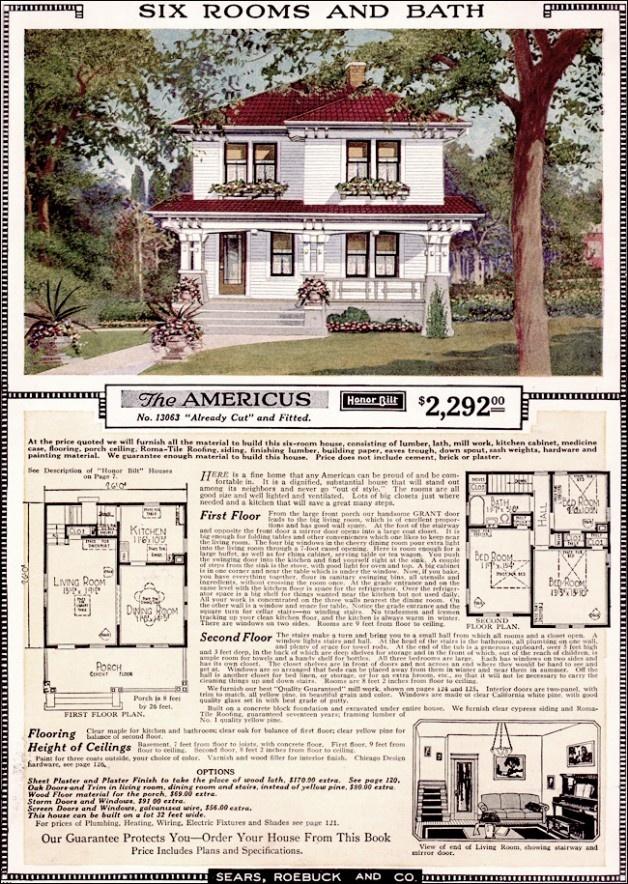 108 best Kit homes images on Pinterest | Vintage houses ...