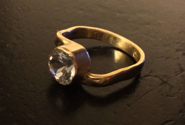 9ct Gold and Killiecrankie Diamond Ring Completed July, 2014