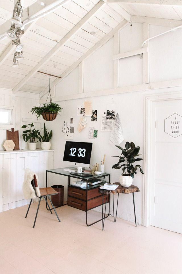 Trabaja como un rey en este despacho estilo #vintage #industrial #Deco
