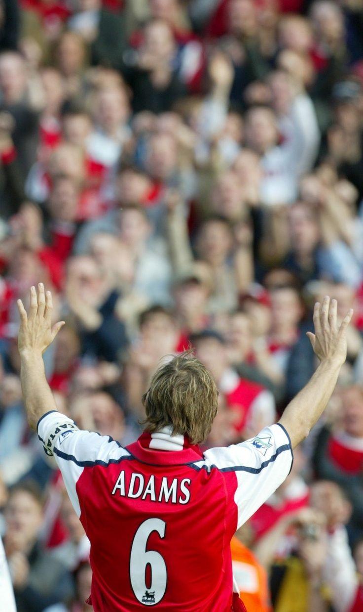 Tony Adams of Arsenal and England
