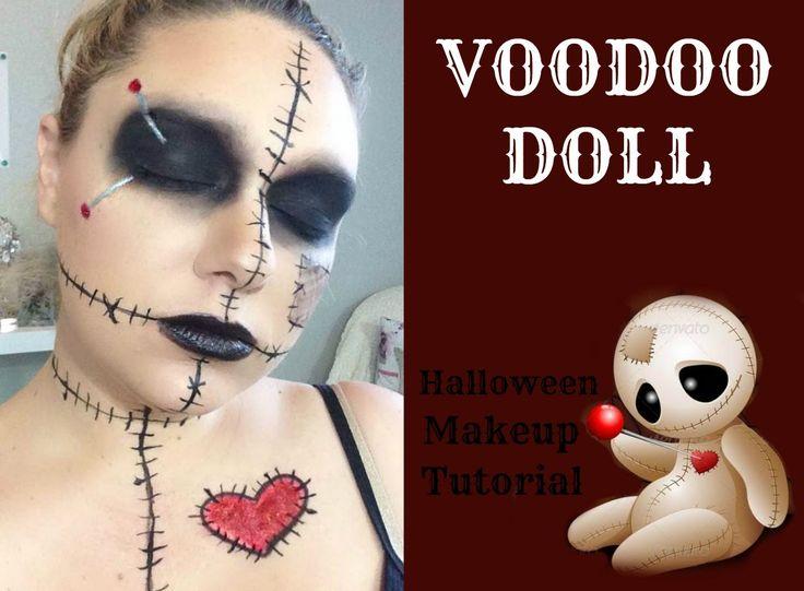 VooDoo Doll - Halloween Makeup Tutorial | Beauty by ...