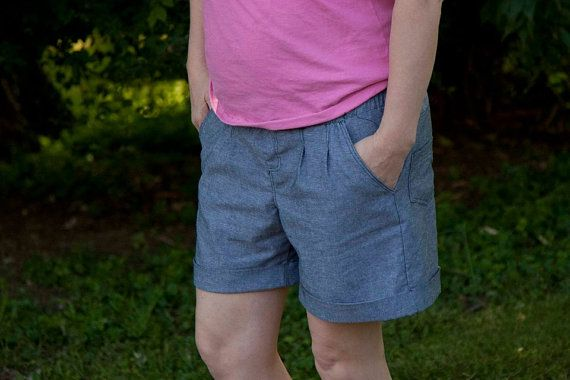 Sunshine Shorts pattern Ladies' Edition  by RabbitRabbitCreation,