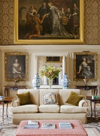 """From Lady Henrietta Spencer-Churchill's new book """"The Life of the House: How Rooms Evolve"""""""