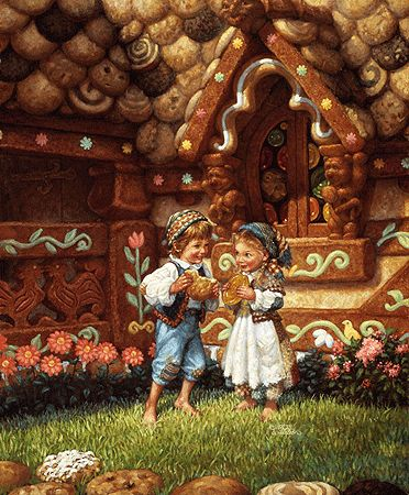 Hansel and Gretel by #Scott_Gustafson