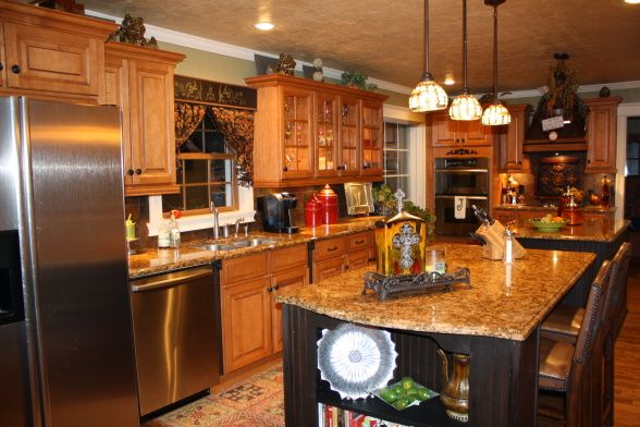Quot Want These Countertops One Day Quot Love The Black Island With