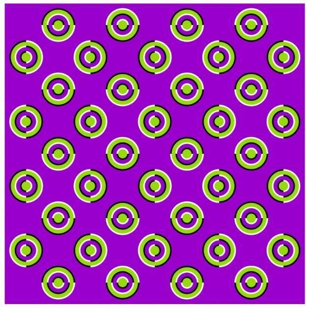 оптические иллюзии: кнопки