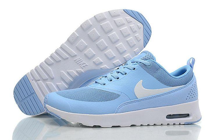 Frauen Nike Air Max Thea Laufschuhe Hellblau