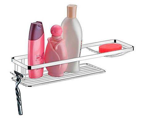 Suporte para shampoo e sabonete phanton - rust free