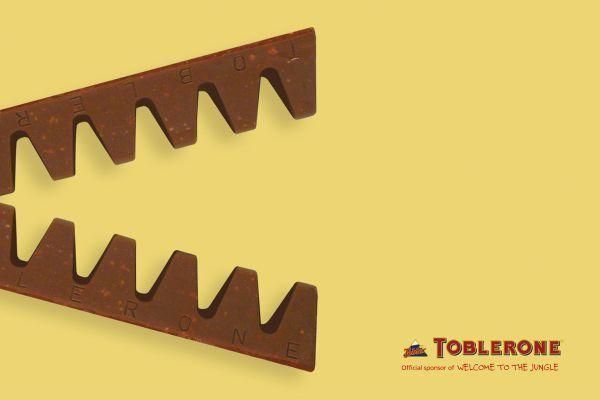 WELCOME TO THE JUNGLE, Toblerone Chocolate, H Leo Burnett, Toblerone, Impresos, Al aire libre, Publicidad
