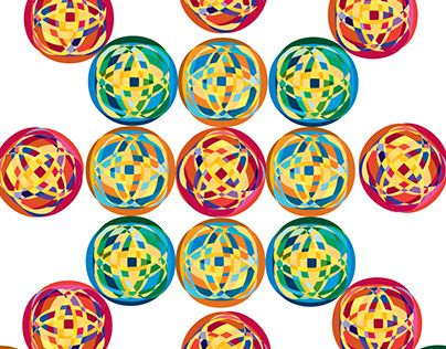 """Check out new work on my @Behance portfolio: """"Complimentary Circles"""" http://be.net/gallery/32900591/Complimentary-Circles"""