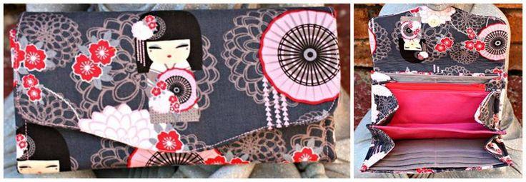 Handmade by Kicoli Kreations Necessary Clutch Wallet