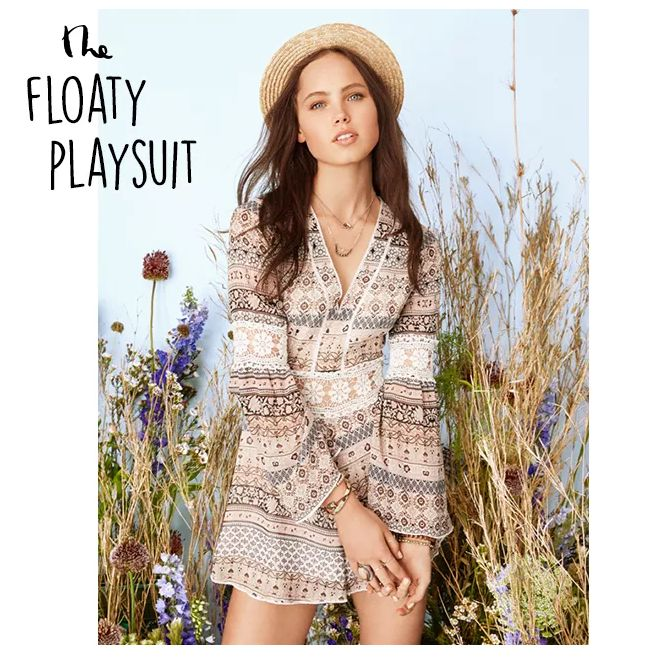 Go for the ultimate Boho look this Spring with a